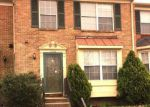 Foreclosed Home in Laurel 20707 8159 FENWICK CT - Property ID: 6320793