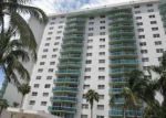 Foreclosed Home in North Miami Beach 33160 19380 COLLINS AVE APT 205 - Property ID: 4158076
